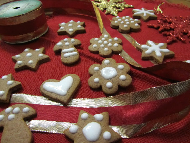 Spicy Christmas Biscuits Recipe
