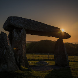 Pentre Ifan Burial Chamber by Sue Woollard - Buildings & Architecture Statues & Monuments ( cromlech, ancient, capstone, stone, monument, dolman, burial, chamber,  )