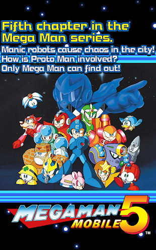 MEGA MAN 5 MOBILE- screenshot thumbnail