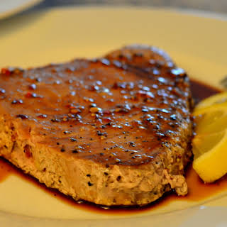 Ahi Tuna Steak.