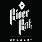 Logo of River Rat Smoke On The Lager Colab With Holy City, 85, And Frothy Beard