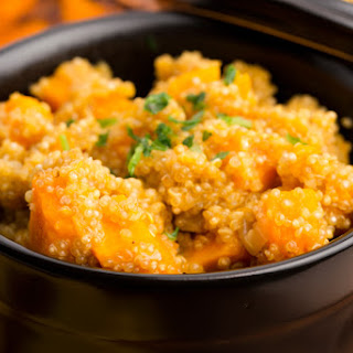 Quinoa with Pumpkin and Thyme.