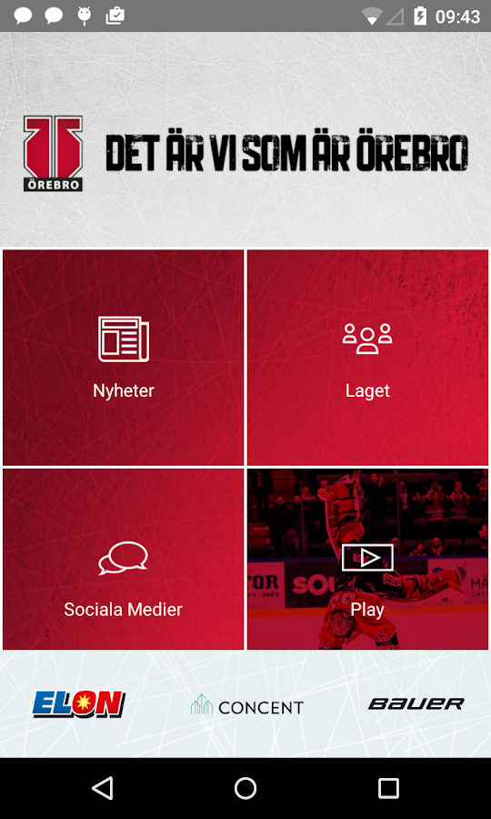 Örebro Hockey- screenshot