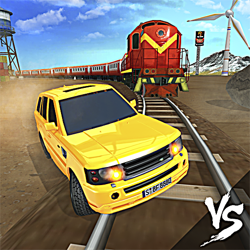 Train vs Car Racing 3D Icon