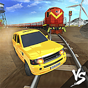 Train vs Car Racing 3D MOD APK 2.3 (Free Purchases)