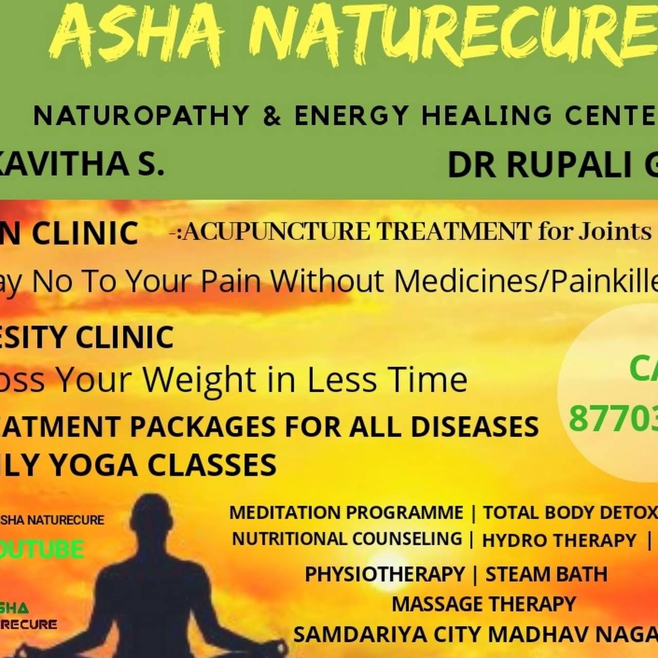 Asha Naturecure- Naturopathy & Energy Healing Center - Naturopathic