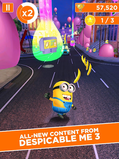 Despicable Me: Minion Rush screenshot 1