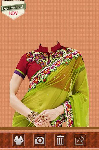 Bollywood Saree Photo Suit