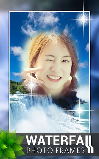 瀑布相框|玩攝影App免費|玩APPs