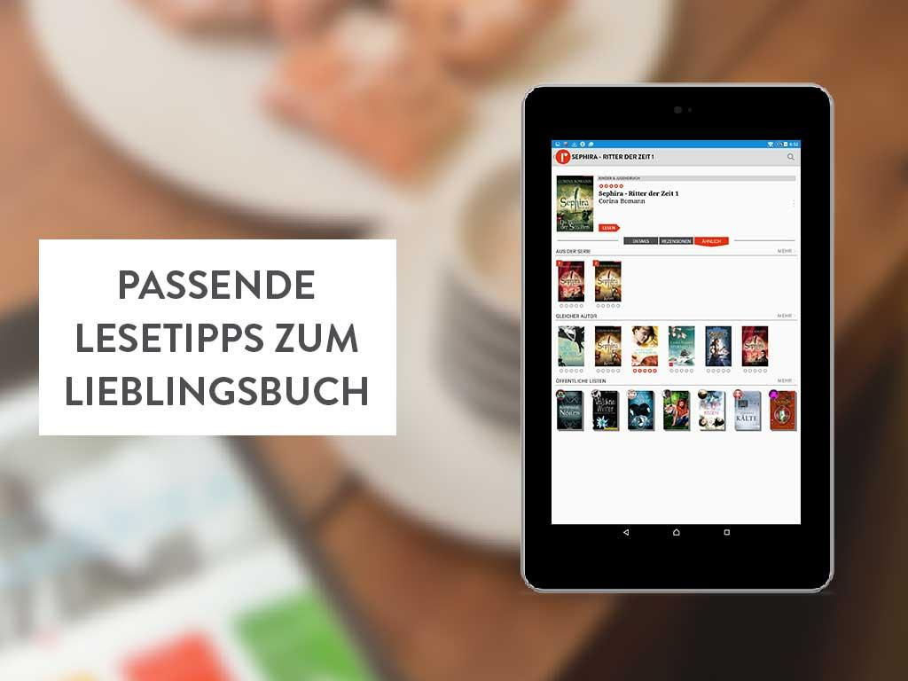 readfy - eBooks gratis lesen- screenshot