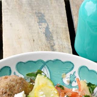 Tortellini with Turkey Meatballs #SecretRecipeClub.