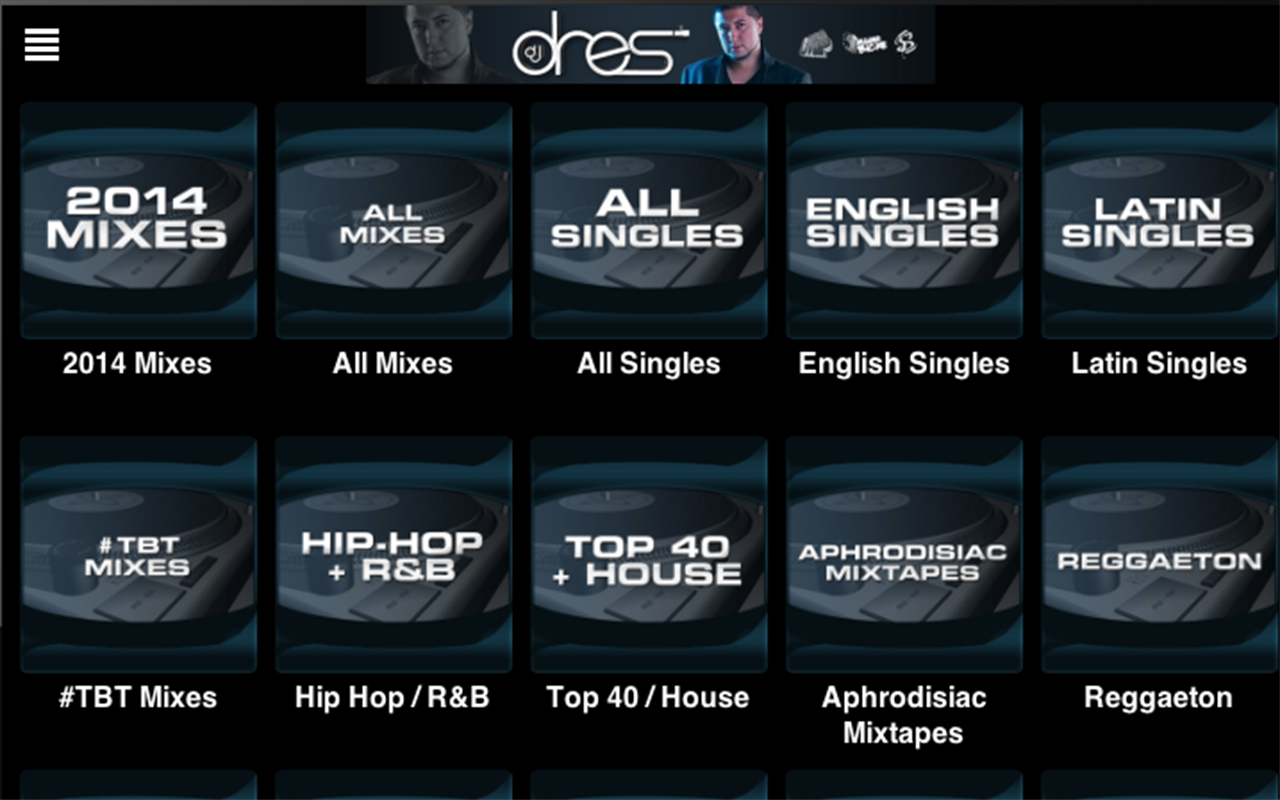 DJ DRES- screenshot
