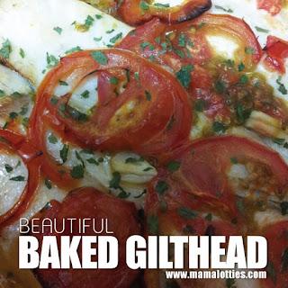 BAKED GILTHEAD Recipe
