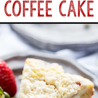 Raspberry Lime Cream Cheese Coffee Cake