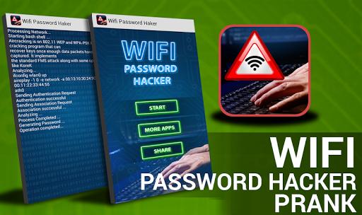 無線LANのパスワードハッカー - いたずら