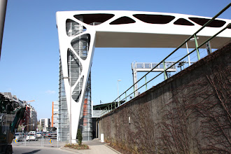 Photo: Day 20 - Lift and Footbridge in Esch