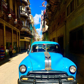 Havana by Zuzana Kapolkova - City,  Street & Park  Street Scenes