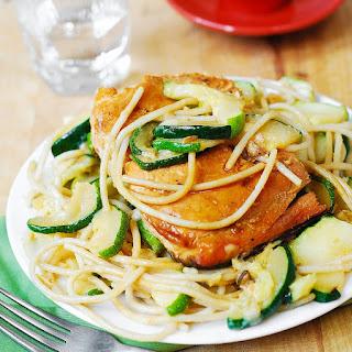 Salmon Zucchini Pasta Recipes.