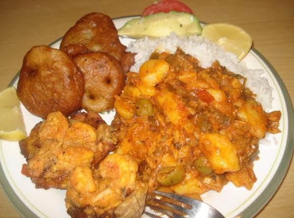 Cuban Codfish And Potatoe Fricasee, Bacalao Con Papas