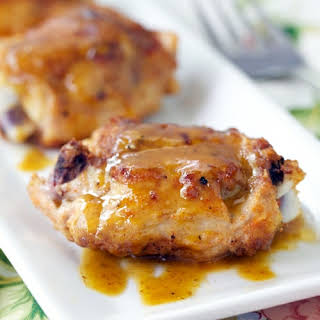 Pan Roasted Chicken Recipe with Ginger Ale Pan Sauce.
