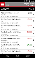 Screenshot of Money Network® Mobile App