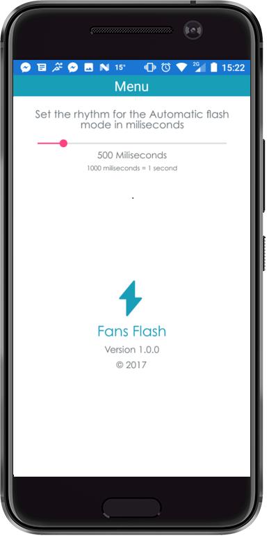 Fans flash - στιγμιότυπο οθόνης