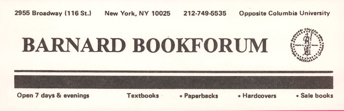 Photo: Barnard Bookforum