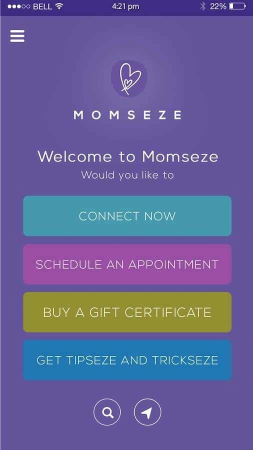 Momseze- screenshot