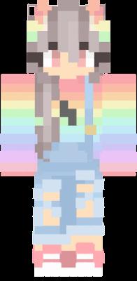 Rainbow Cute Nova Skin