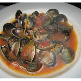 Steamed Cockles.