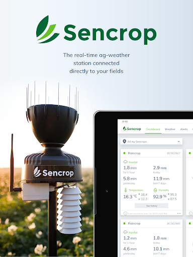 Screenshot for Sencrop in United States Play Store