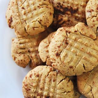 Cinnamon Peanut Butter Cookies