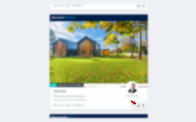 Real Estate Listing Hider
