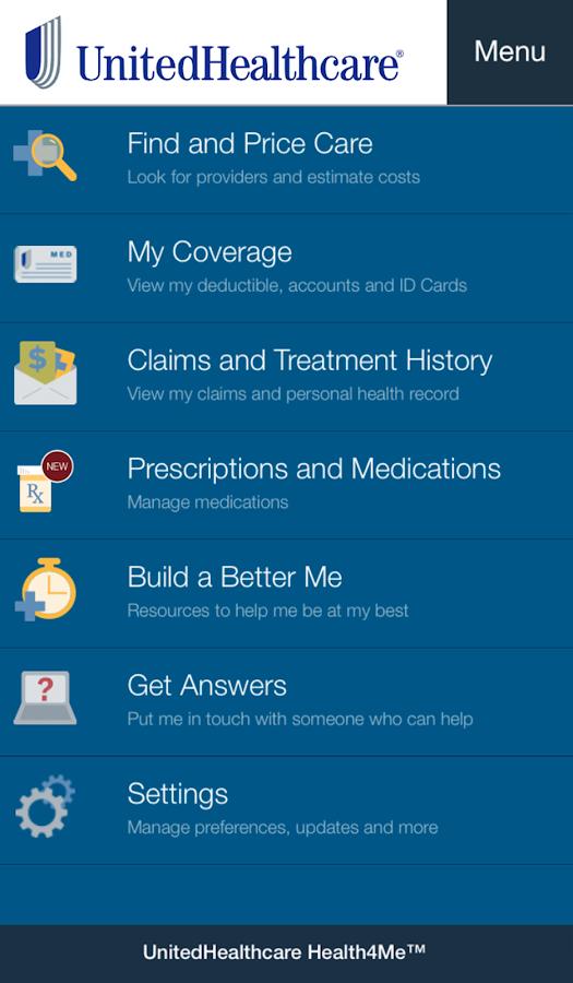 Health4Me - screenshot