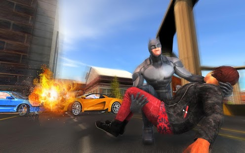 Grand Flying Superhero - Real City Rescue Mission - náhled