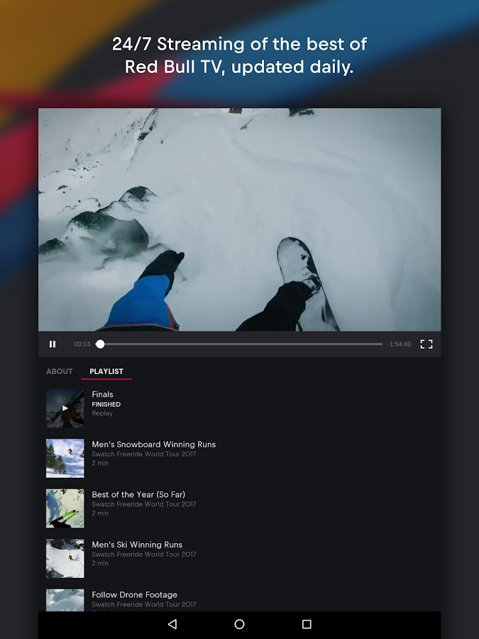Red Bull TV: Live Sports, Music & Entertainment- screenshot