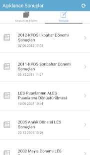 ÖSYM Mobil Screenshot
