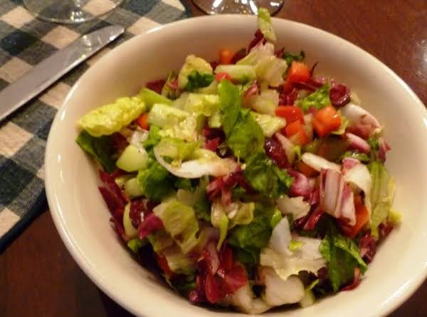 Easy Chopped Salad Recipe