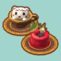 ベリーなケーキセット
