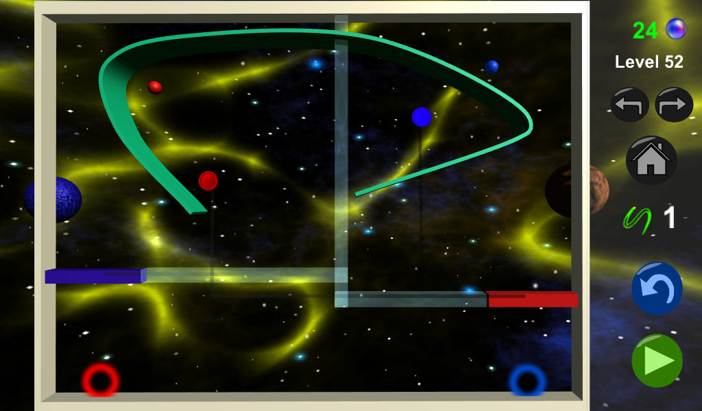 Ball Control Space- screenshot