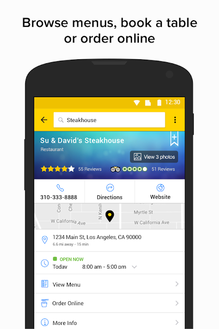 #2. YP - Yellow Pages local search (Android)