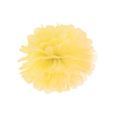 Pom pom - gul 35 cm