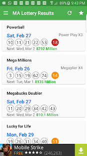 Ma keno lottery results : Casino games free on line