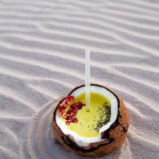 Coconut Turmeric Smoothie.