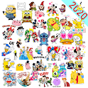 New Cute Cartoon Stickers WAStickerApps icon