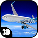 Passenger Airplane Flight Sim Icon