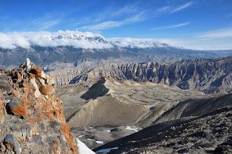 Photo: Entre le Green High Camp et le Khampa Camp (le haut Mustang)