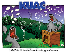 Photo: Tshirt design: KUAC 50th Anniversary