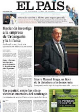 Photo: Muere Fraga y Hacienda investiga a la empresa de Urdangarin, entre otros temas en portada http://www.elpais.com/static/misc/portada20120116.pdf