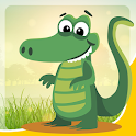 alligator game for kids free icon